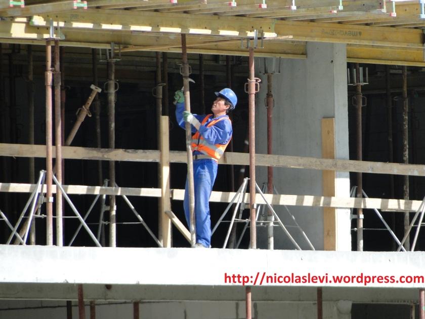 DPRK Worker in Warsaw